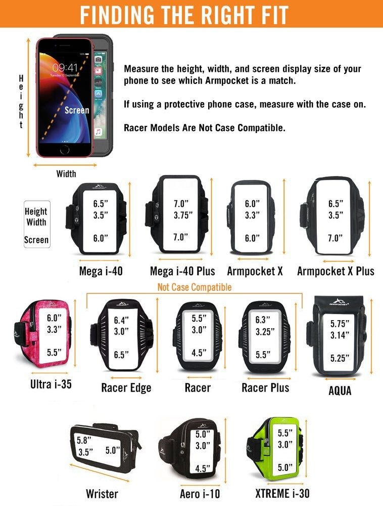 Will My Phone Fit Size Chart
