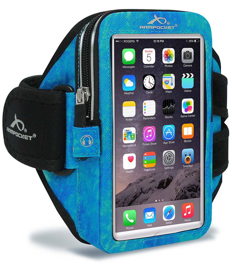 Mega i-40 for Phones and Cases up to 6.5 Inches - Arctic Blue
