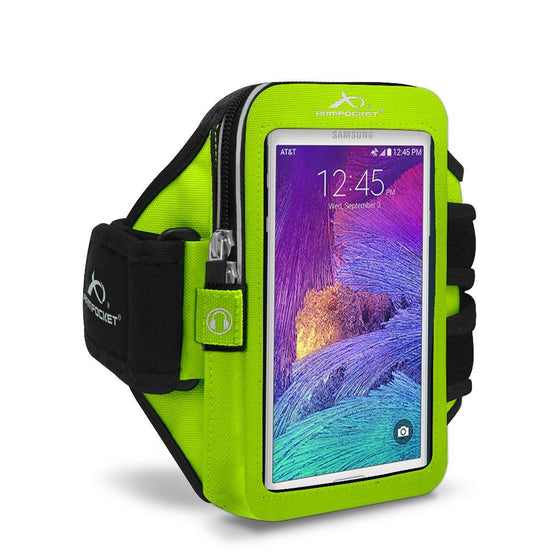 Xtreme i-30 bounce free armband for Galaxy A5 Yellow