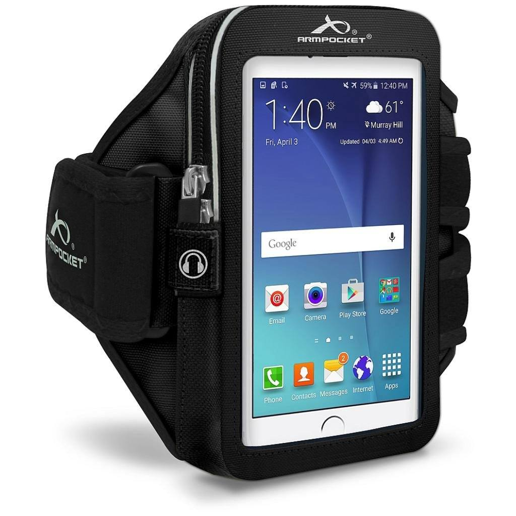 Galaxy S6 Active armband by Armpocket, Ultra i-35 Purple