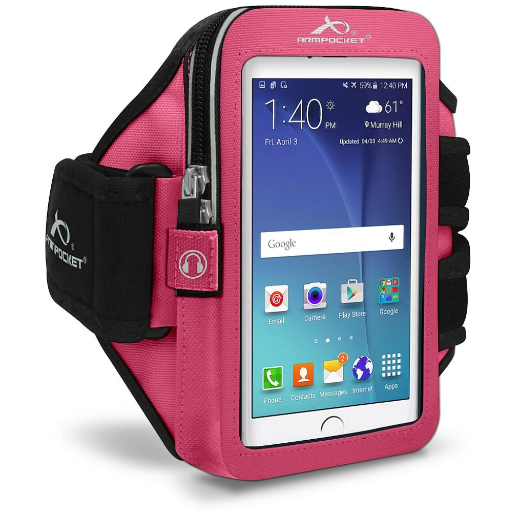 Ultra i-35 fitness armband for Galaxy S7 Pink