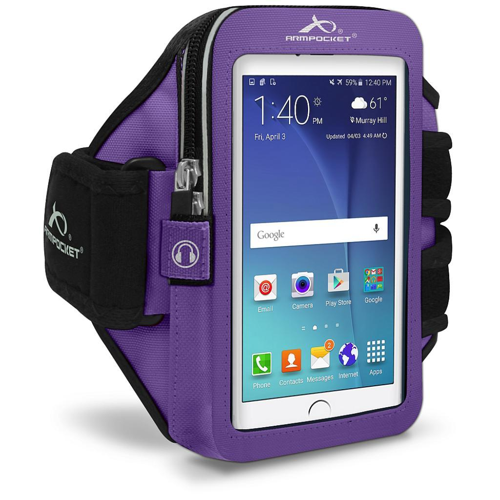 Ultra i-35 fitness armband for Galaxy S7 Purple