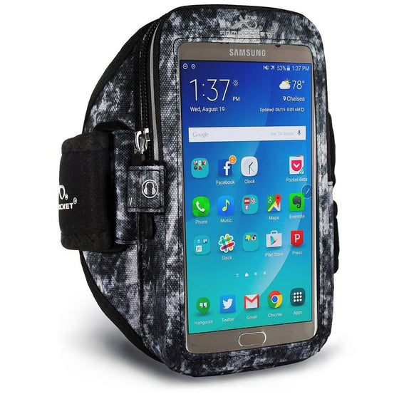 Mega i-40 armband for Galaxy S6 active Arctic Storm