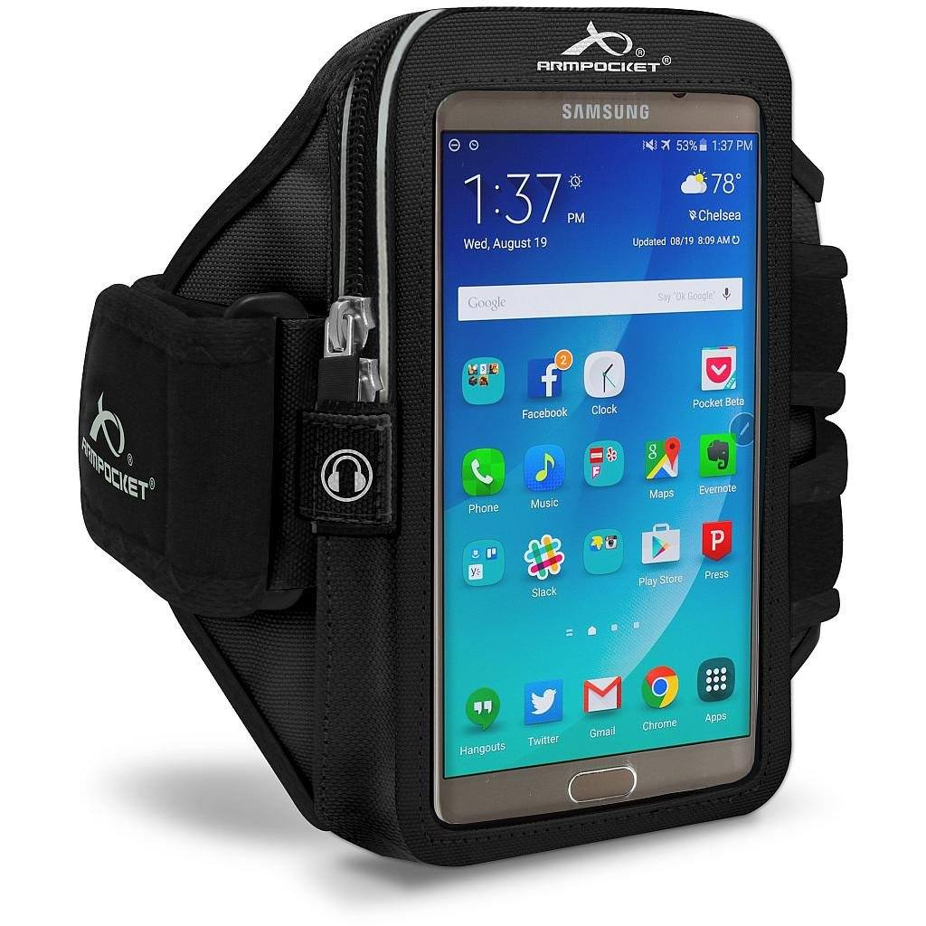 Armpocket Elite, Mega i-40 armband for Galaxy A5 Arctic Blue