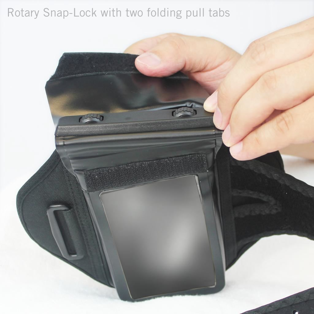 100% Waterproof armband for iPhone X/Xs Locking Mechanism