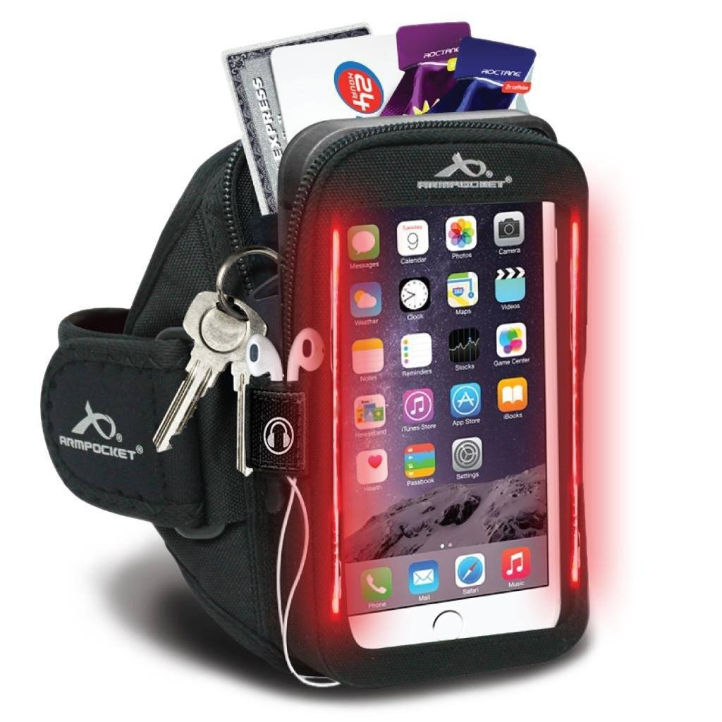 Carry phone and wallet while running