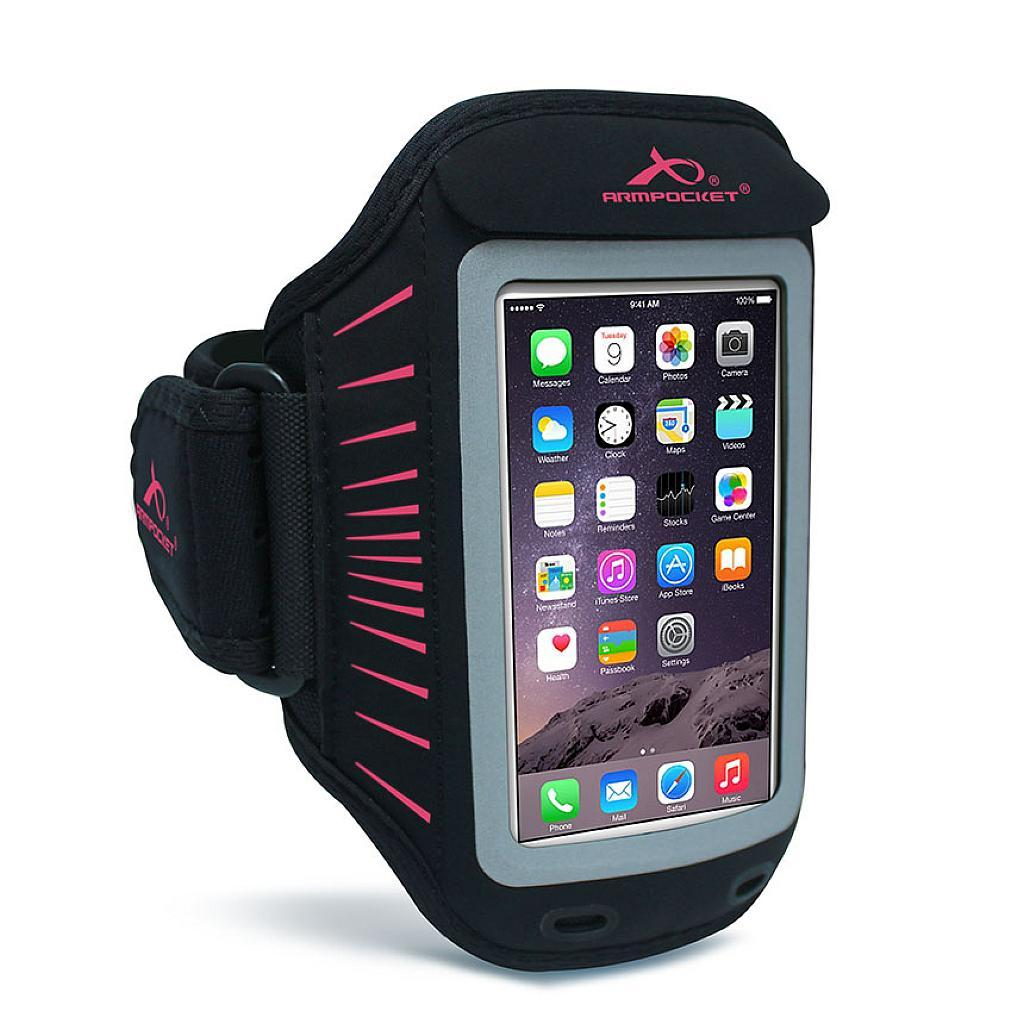 Racer slim armband for iPhone 5/5s/5c/SE Pink