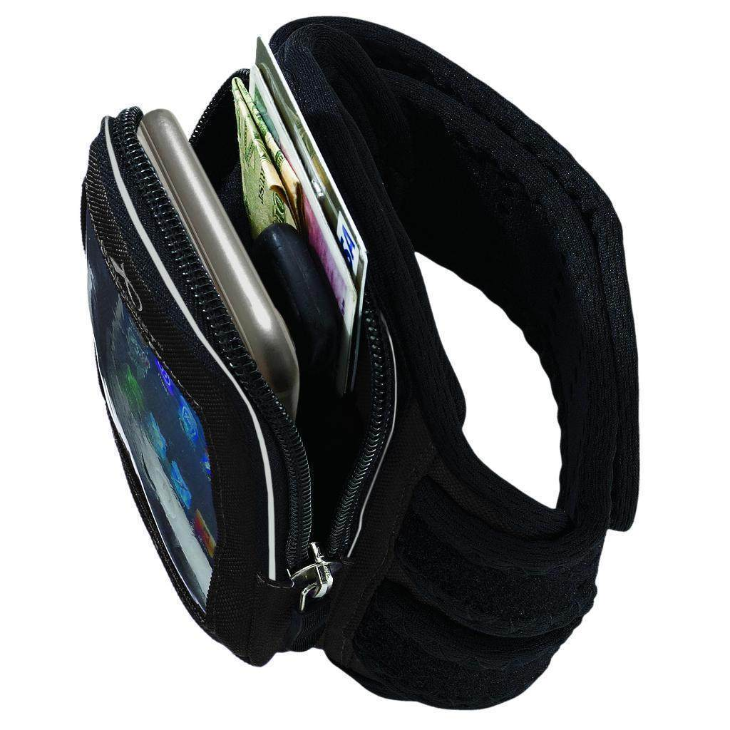 Mega i-40 armband for iPhone Xs/Xr/X/8/7, Galaxy S10/S9/S8 & more with large cases Storage
