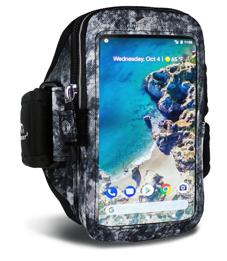 Ultra i-35 exercise armband for LG V35 ThinQ with No Case