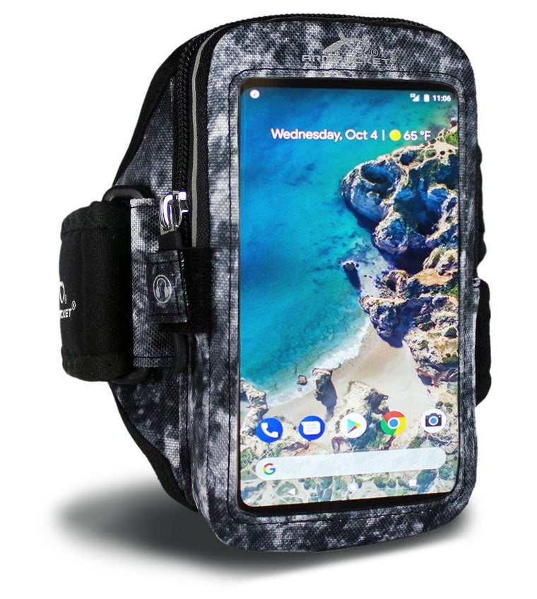 Mega i-40 armband, Arctic Series for iPhone X/8/7, Galaxy S9/S8 & more with large cases