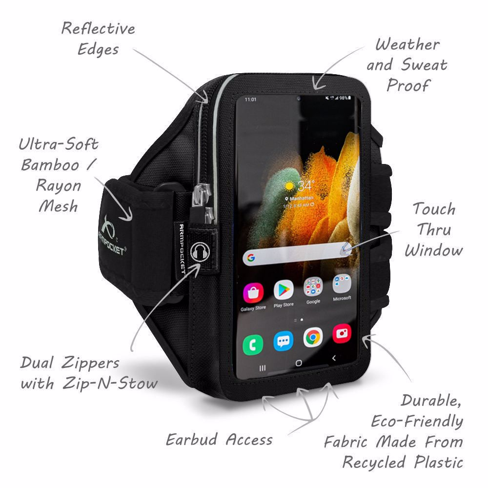 Mega i-40 Galaxy S21 Running Phone Armband