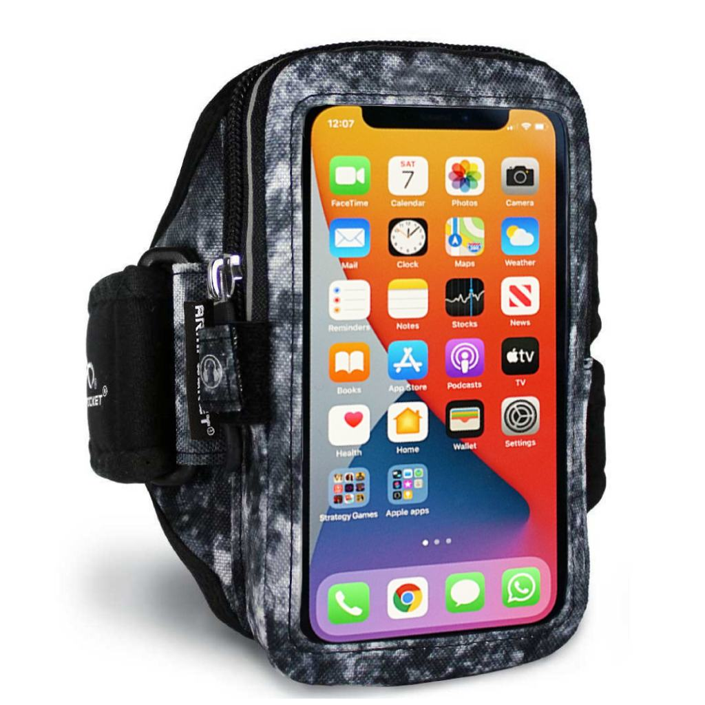 Mega i-40 Workout Armband For iPhone 12 Pro – Arctic Storm