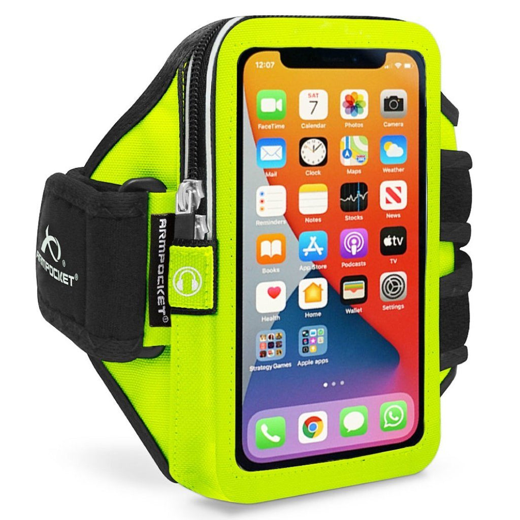 Mega i-40 Plus Smartphone Armband for Large Phones and Cases up to 7.0 Inches - Yellow