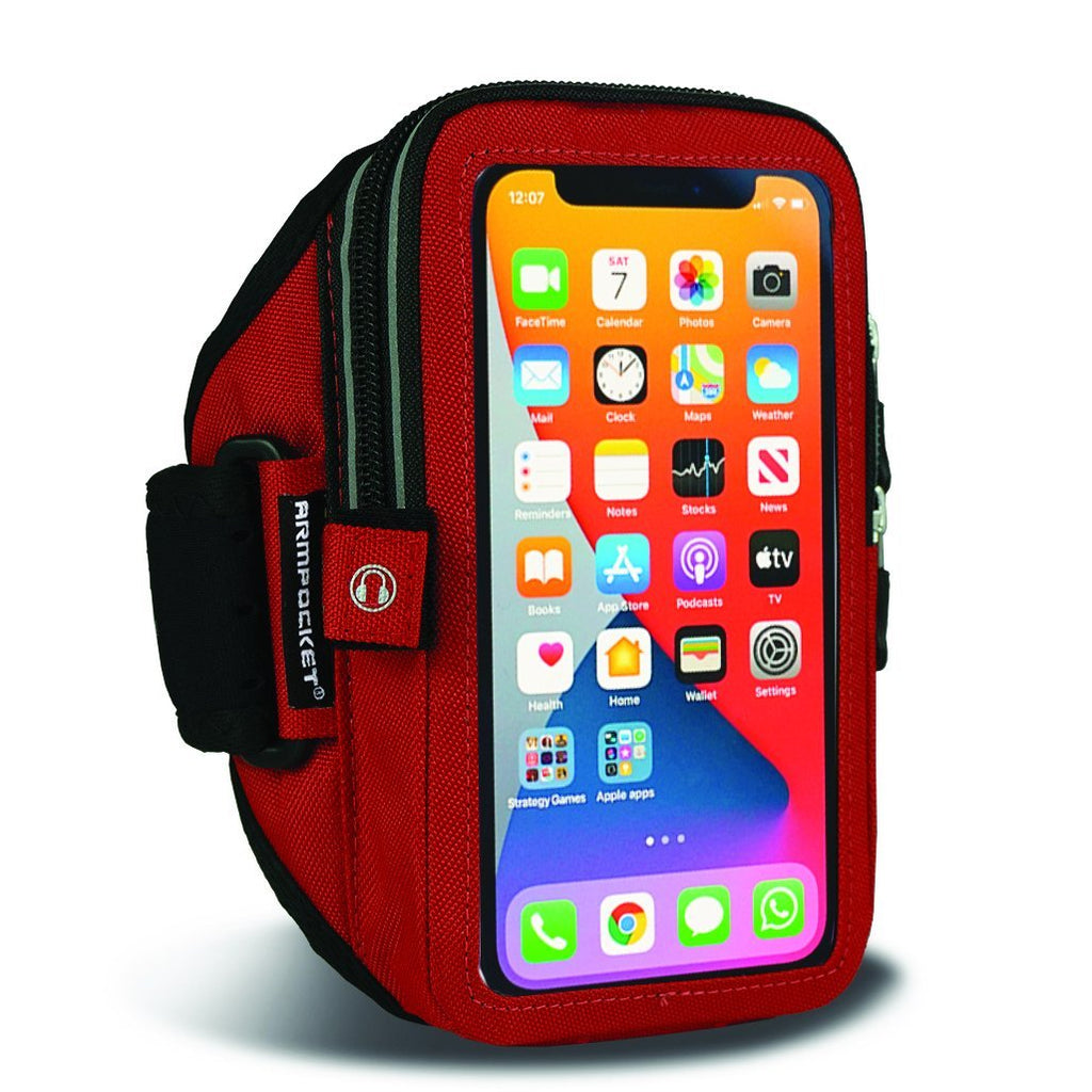 Mega i-40 Workout Armband For iPhone XR – Red