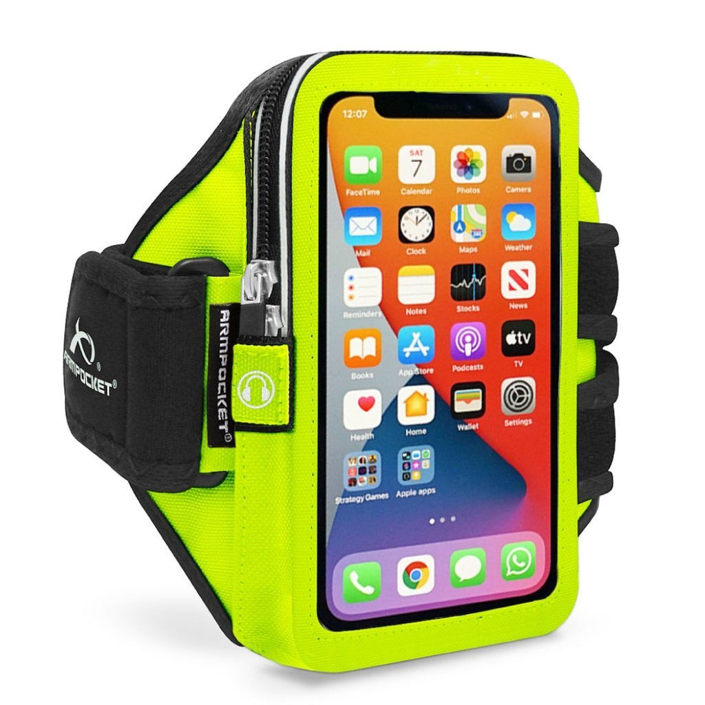 Mega i-40 Workout Armband For iPhone XR – Yellow