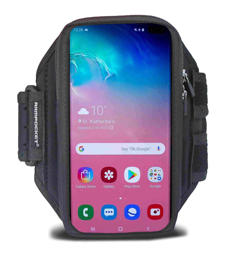 Armpocket X Armband for Galaxy S10e Front View
