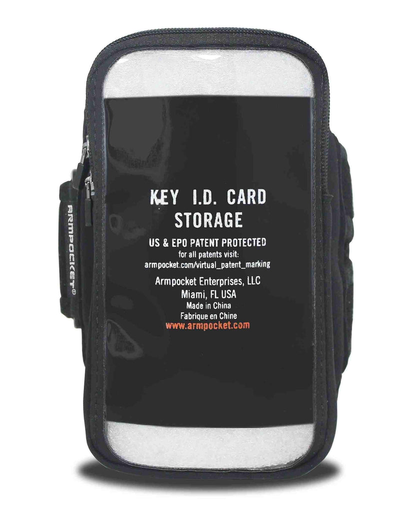 Armpocket X Armband for Galaxy A01 Inside Pocket View