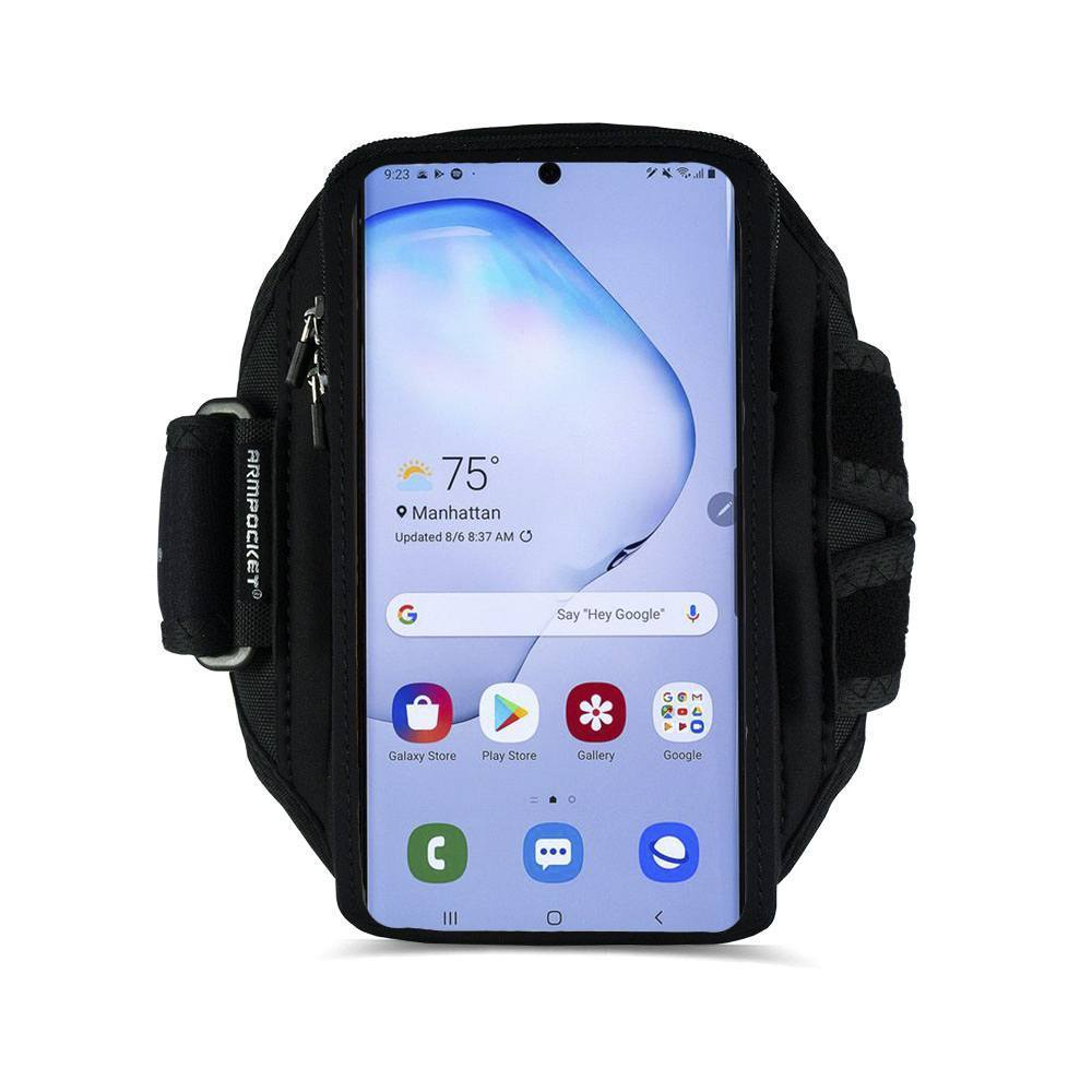 Armpocket X Plus armband for Galaxy S20 Ultra and full screen devices Front View