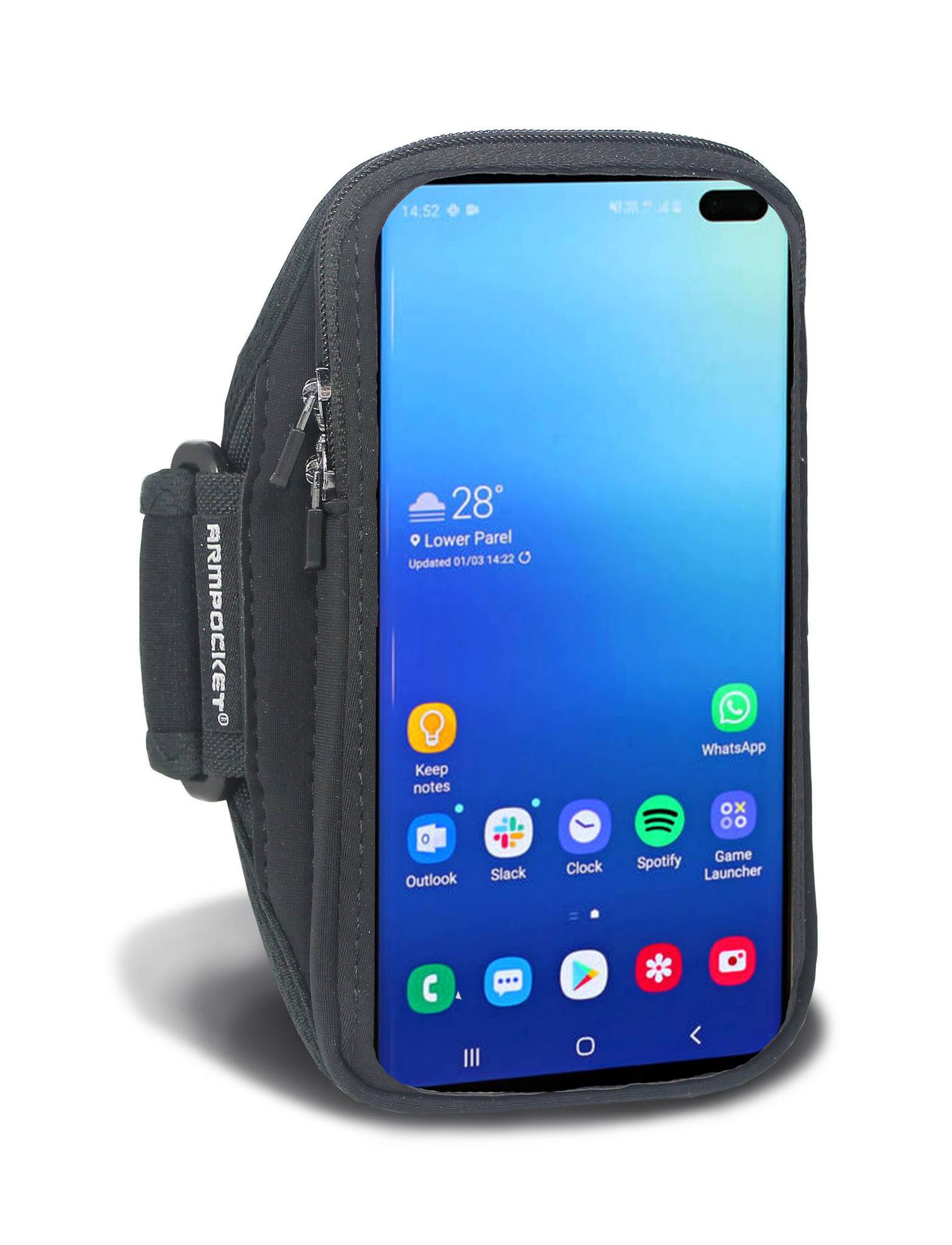 Armpocket X armband for Galaxy S9