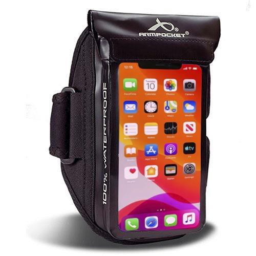 100% Waterproof armband for iPhone 11 Pro, ID, and keys