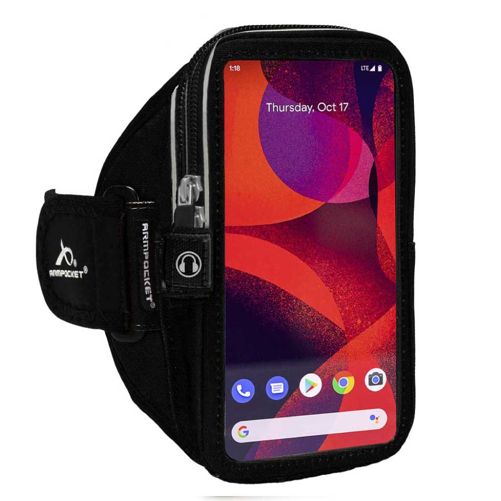 Armpocket Elite, Mega i-40 case for Google Pixel 3a XL Black