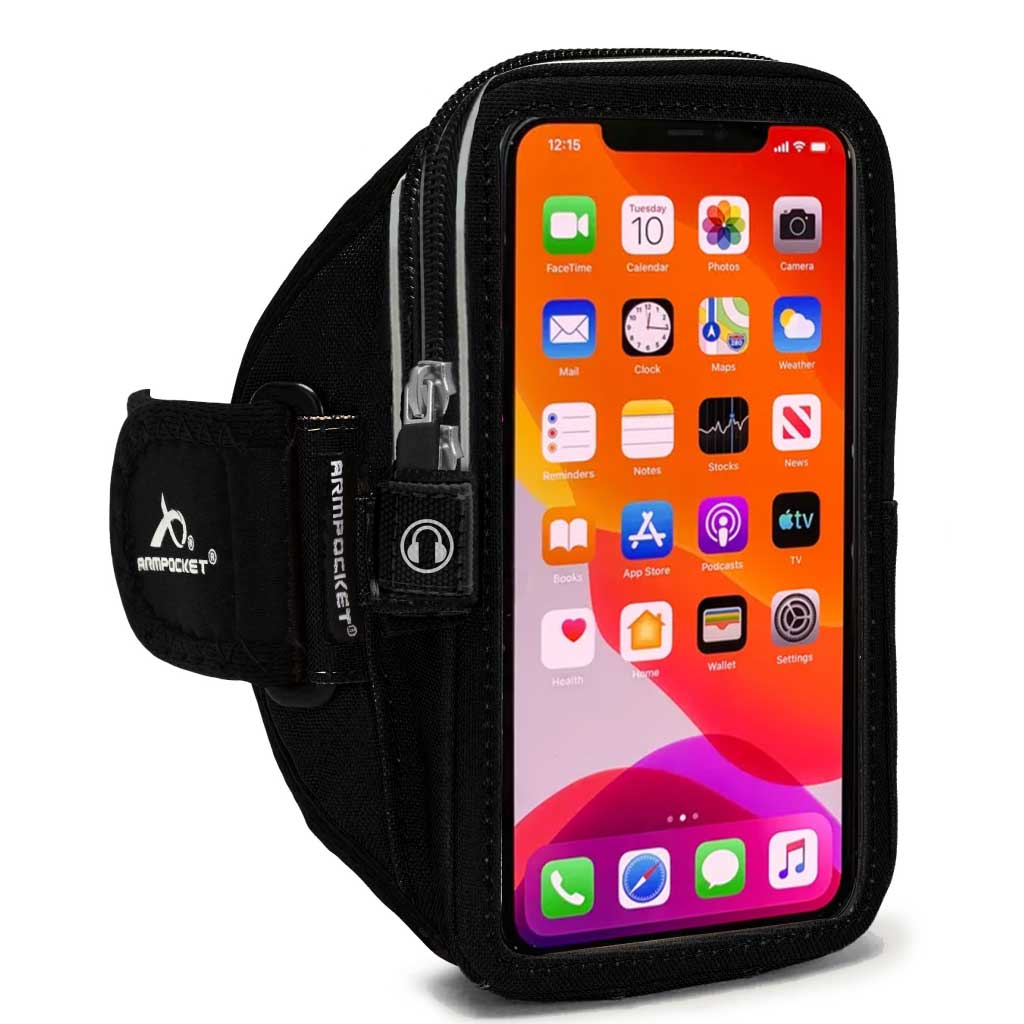 Mega i-40 Running Phone Armband for iPhone 12/12 Pro/SE 2020/11/11 Pro, Galaxy Note 10/S21/S20 & more with large cases
