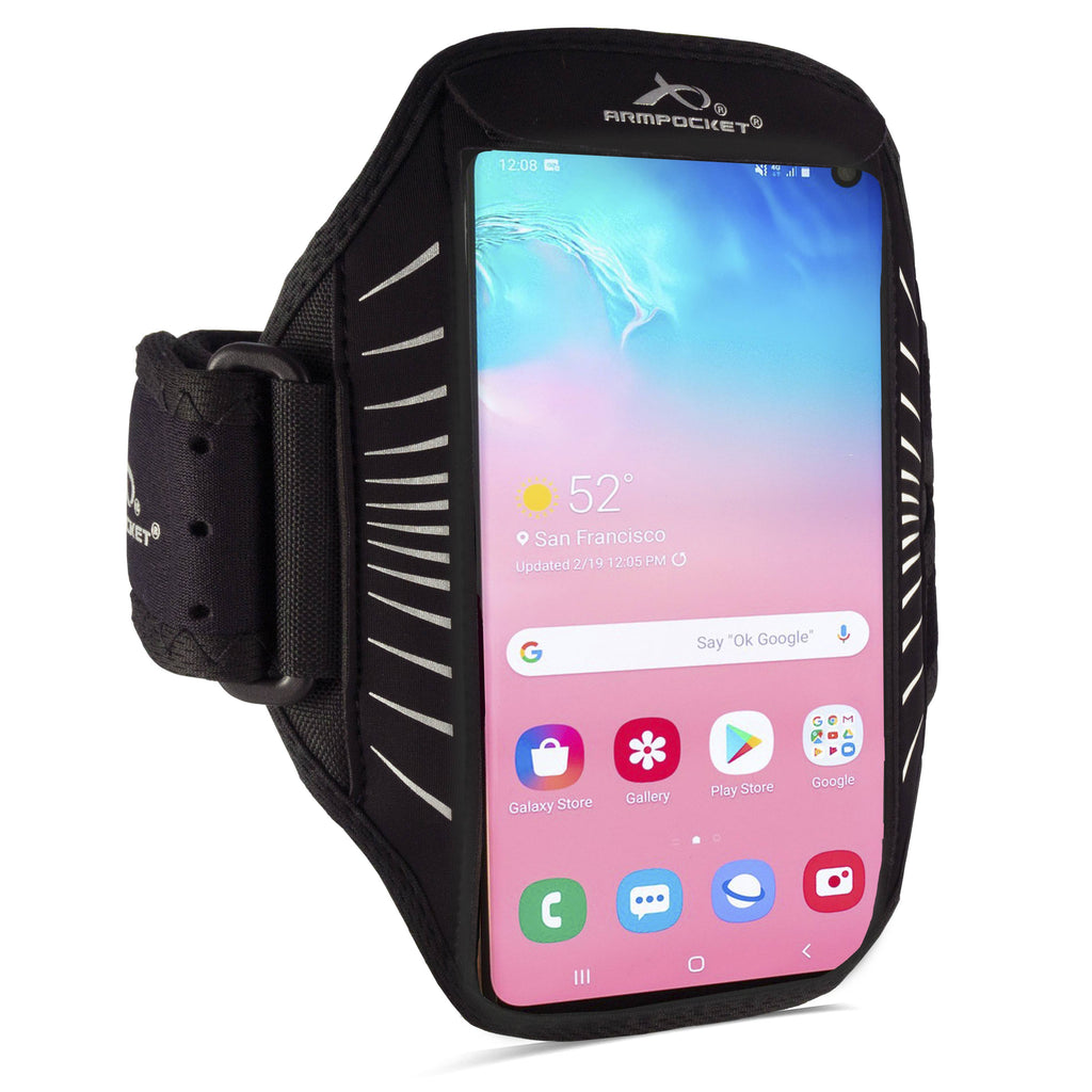 Racer Edge full-screen, thin armband for Galaxy S10+