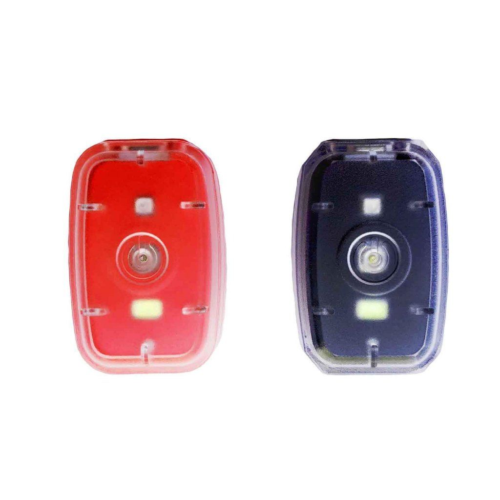 Rechargeable LED Safety Light Red and Black