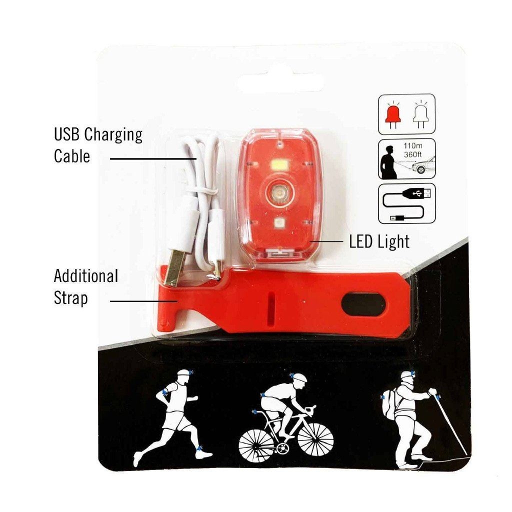 Rechargeable LED Safety Light Packaging