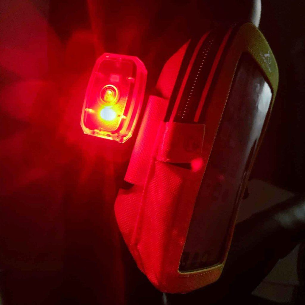 Rechargeable LED Safety Light Bright Red Light