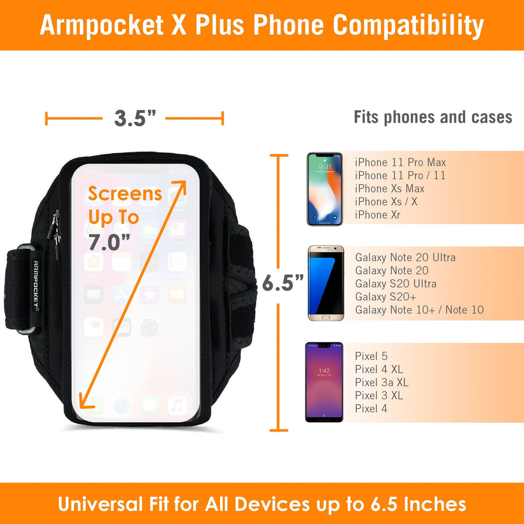 Armpocket X Plus Size Chart