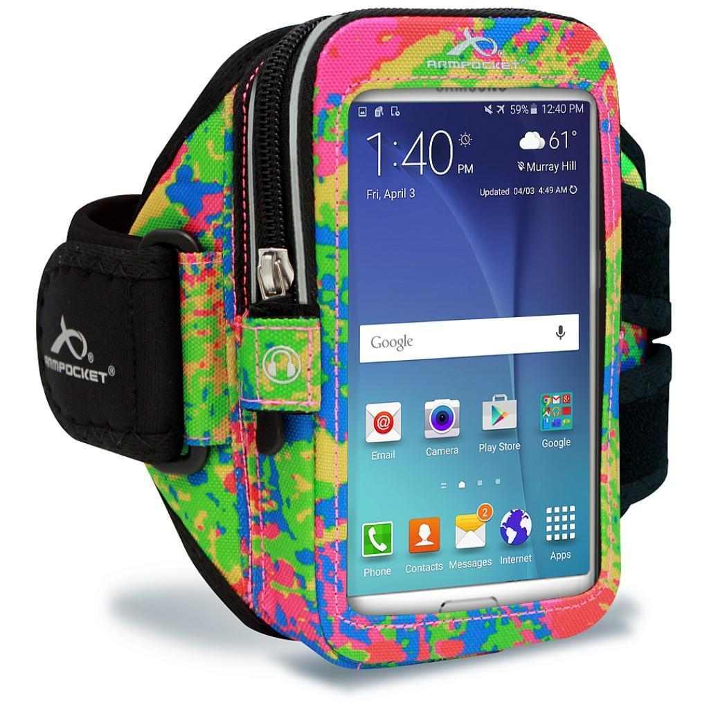 Ultra i-35 Smartphone Armband for iPhone 8/7/6, Galaxy S7/S6, Google Pixel 3 & more - Splash