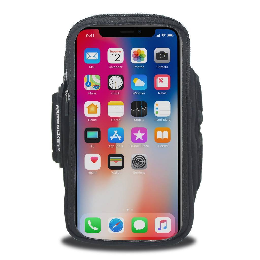 Armpocket X Armband for iPhone XR Front View