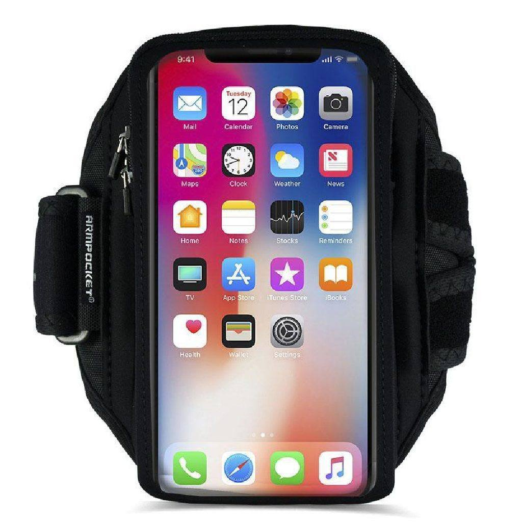 Armpocket X Plus full-screen armband for iPhone X/XS Front View