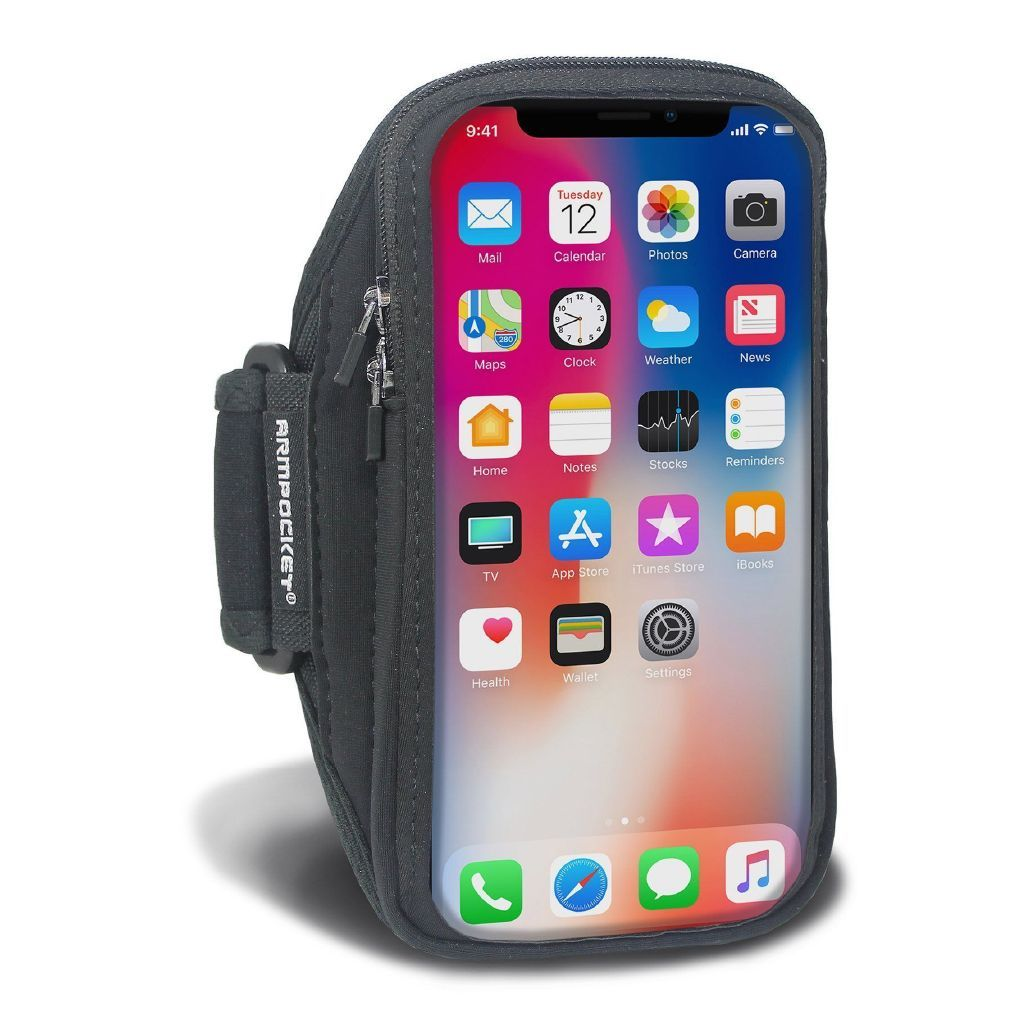 Armpocket X armband for iPhone SE 2020/11/11 Pro, Galaxy S20/S10, Pixel 4a & full screen devices