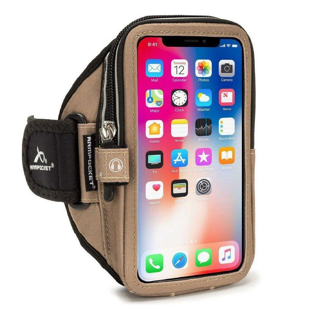 Mega i-40 armband for iPhone X/XS Coyote