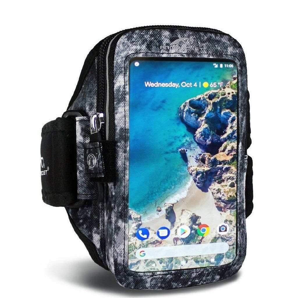 Armband for iPhone 8/7/6, Galaxy S7/S6, Google Pixel & more - Ultra i-35 Arctic Storm