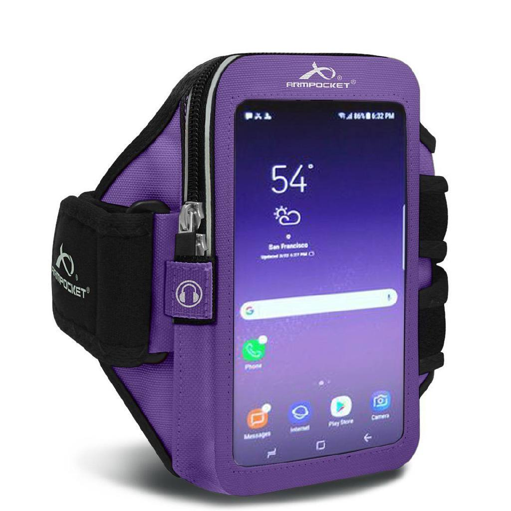 Armband for iPhone 8/7/6, Galaxy S7/S6, Google Pixel & more - Ultra i-35 Purple