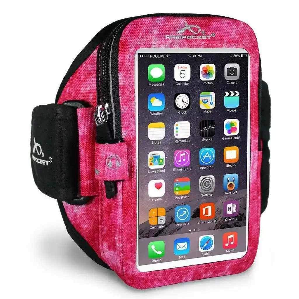 Mega i-40 Arctic Berry Running Phone Armband for phones and cases up to 6.5 Inches