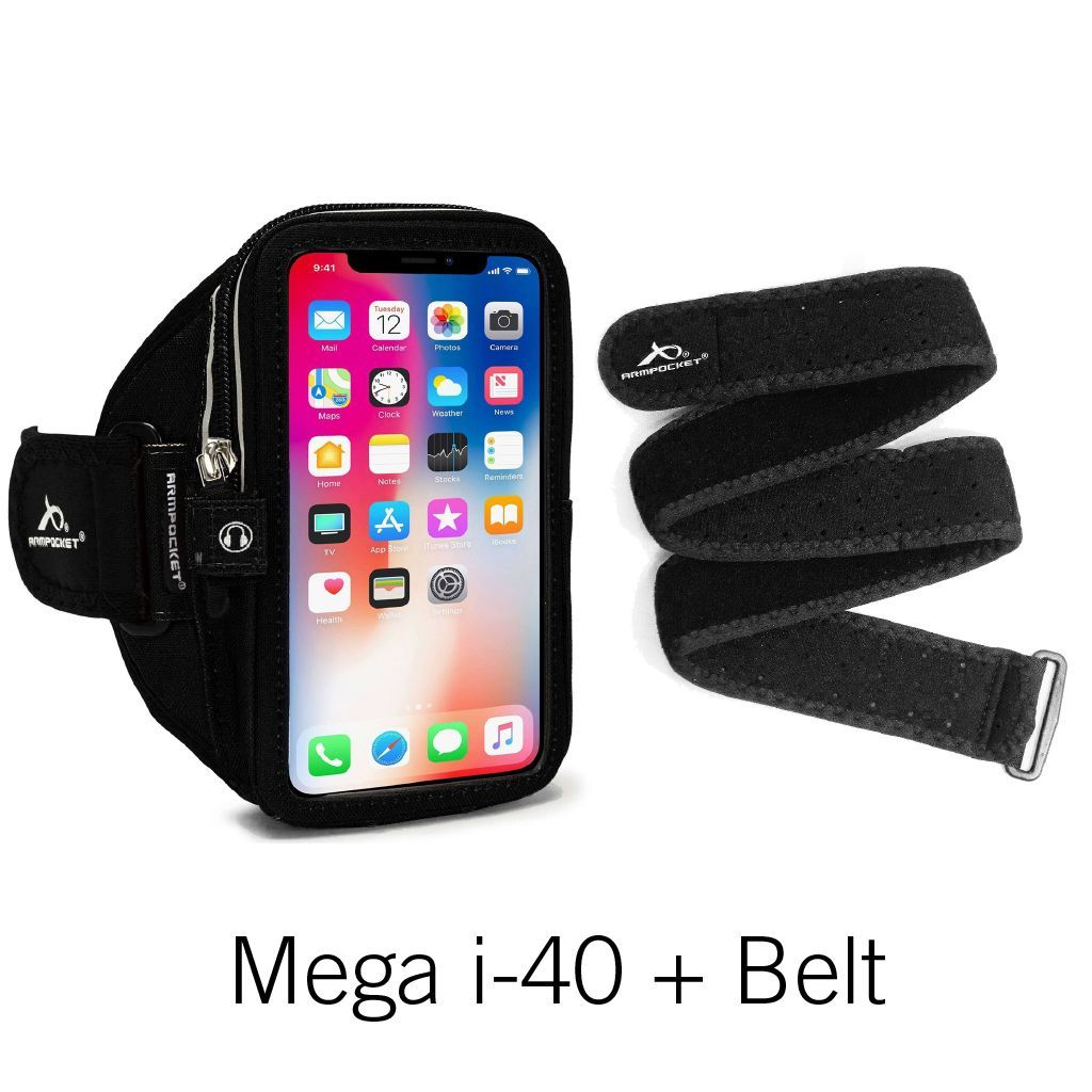 Mega i-40 Armpocket and Belt