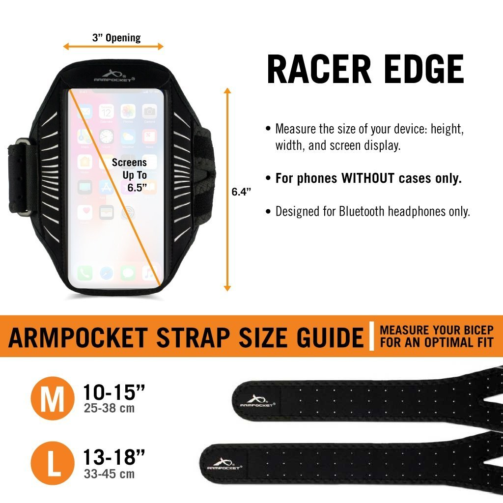 Racer Edge Size Chart