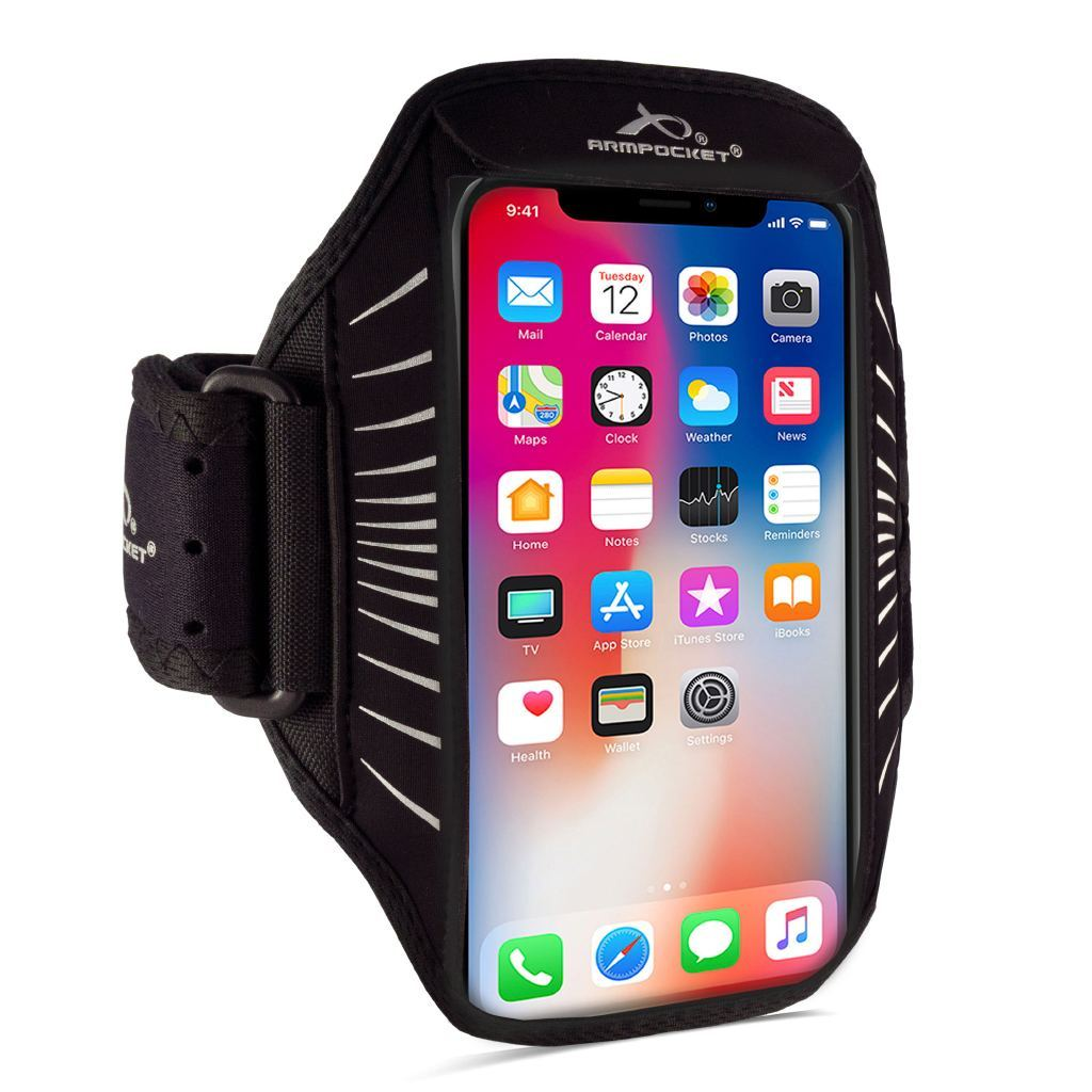 Racer Edge, thin armband for iPhone Xs/Xr/X, Galaxy S10/S10e/S10+/S9+/S8+ and other full-screen devices Right