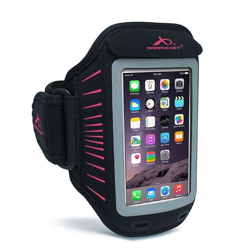Racer slim armband for iPhone 6s/6 Pink