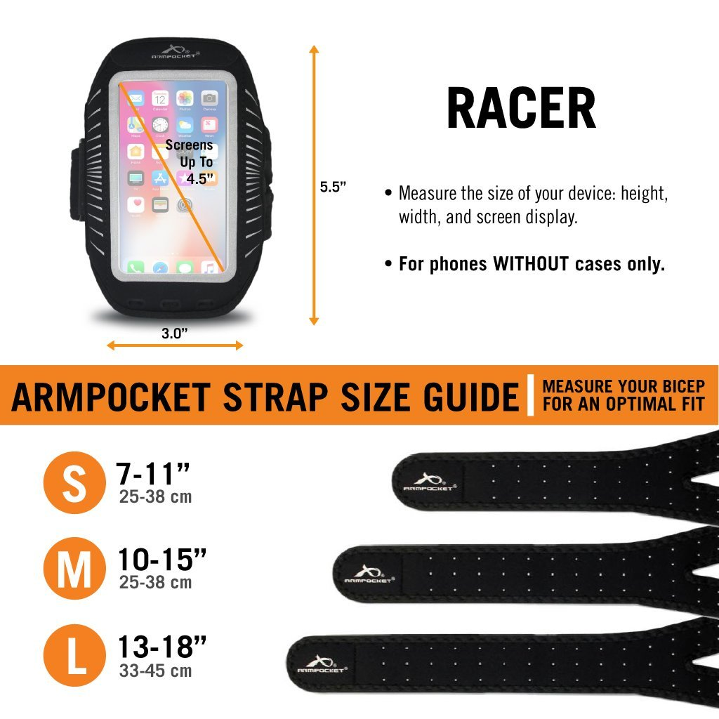 Racer size chart