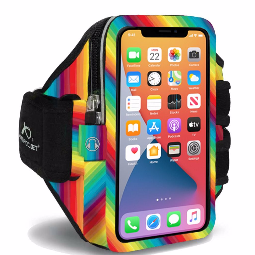 Mega i-40 armband for iPhone XR Limited Edition Rainbows for Heroes