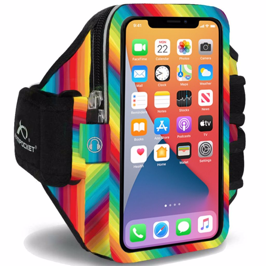 Mega i-40 Plus armband for iPhone 11 Pro Max Limited Edition Rainbows for Heroes