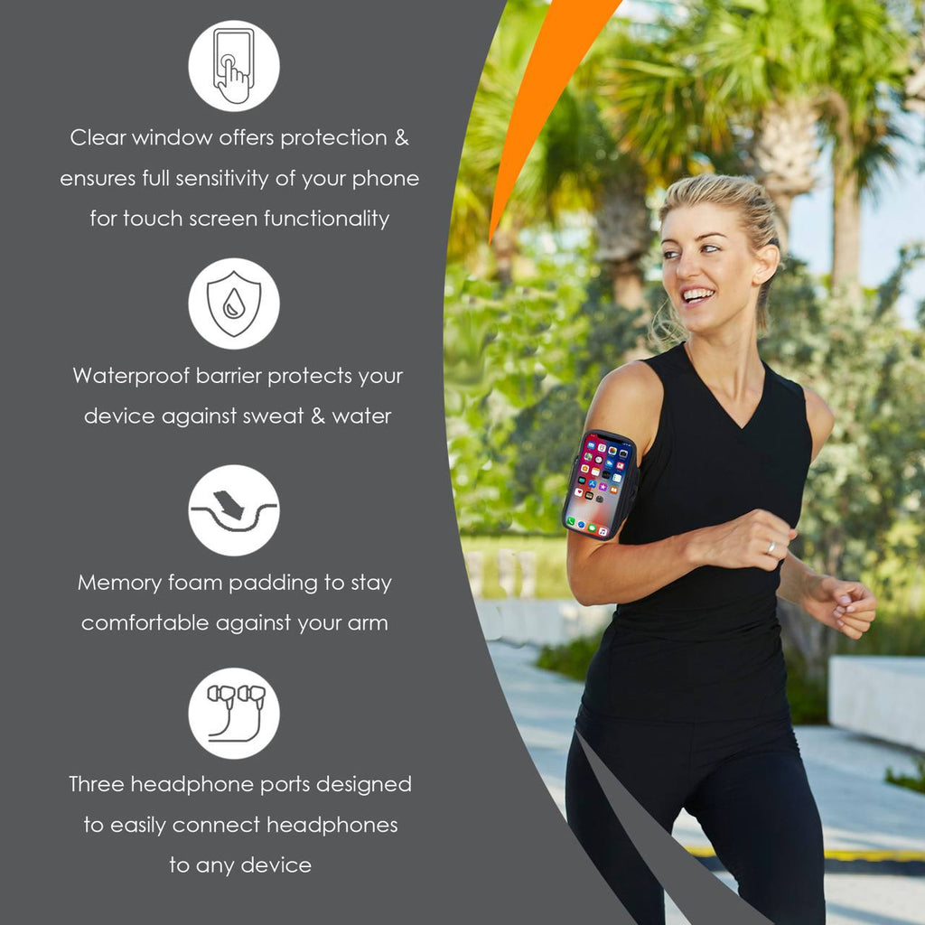 Armpocket X Plus Running Armband  Features