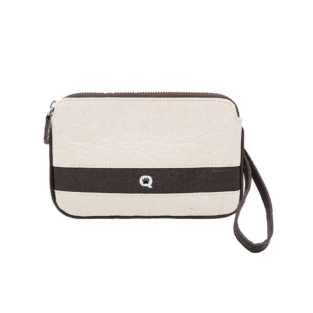 Quokka Vegan Convertible Bag - Urban Chic Natural and Brown
