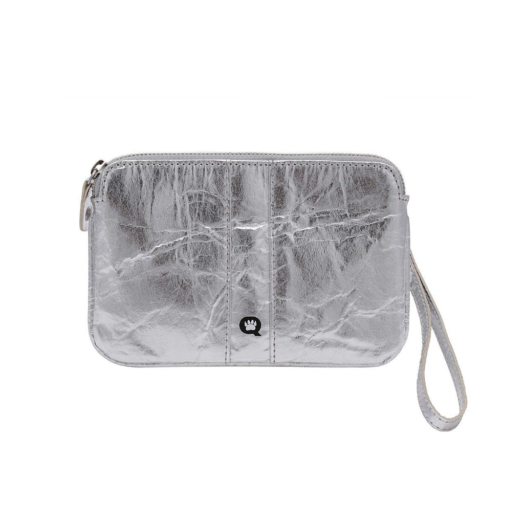 Quokka Vegan Convertible Bag - Urban Chic Silver