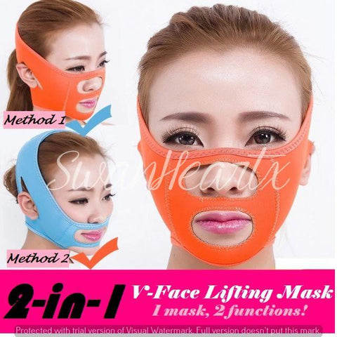 2 Way Face Lift Slimming Mask